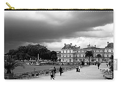 Luxembourg Gardens 2bw Carry-all Pouch