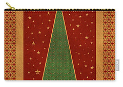 Luxurious Christmas Card Carry-all Pouch