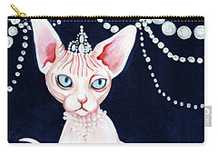 Luxurious Sphynx Carry-all Pouch