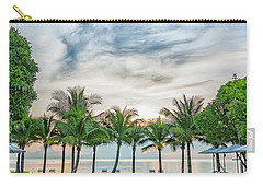 Carry-all Pouch featuring the photograph Luxury Pool In Paradise by Antony McAulay