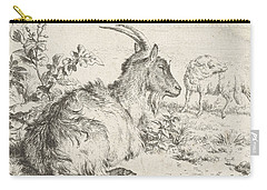 Lying Goat Carry-all Pouch by Adriaen van de Velde