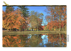 Carry-all Pouch featuring the photograph Lykens Glen Reflections by Lori Deiter