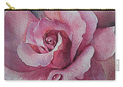 Lyndys Rose Carry-all Pouch by Sandra Phryce-Jones