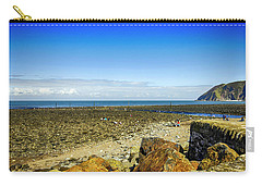 Lynmouth Beach In Devon, Uk Carry-all Pouch