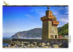 Lynmouth Harbor Entrance, Uk Carry-all Pouch