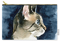 Lynx Point Cat Portrait Carry-all Pouch