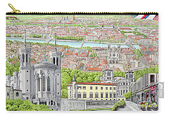 Lyon France Carry-all Pouch by Albert Puskaric