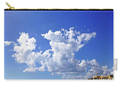 Carry-all Pouch featuring the digital art M Day At The Beach by Francesca Mackenney