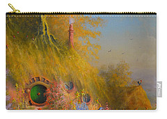 Meeting Of Old Friends Carry-all Pouch by Joe Gilronan