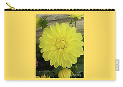 M Shades Of Yellow Flowers Collection No. Y90 Carry-all Pouch