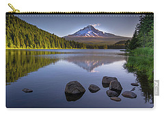 M T Hood Sunrise At Lake Trillium Carry-all Pouch