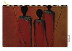 Maasai Trio  Carry-all Pouch