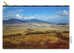 Maasai Village, Tanzania Carry-all Pouch