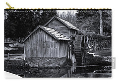 Mabry Mill Bw Light Snow Carry-all Pouch