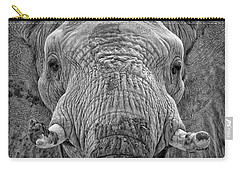 Carry-all Pouch featuring the photograph Mabu Up Close N Personal by Elaine Malott