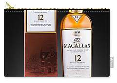 Macallan Single Malt Whisky Carry-all Pouch by Mihai Andritoiu