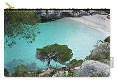 Macarelleta Turquoise Jewell By Pedro Cardona Carry-all Pouch