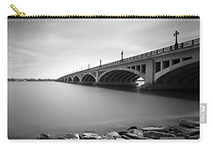 Macarthur Bridge To Belle Isle Detroit Michigan Carry-all Pouch