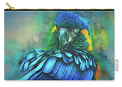 Macaw Magic Carry-all Pouch by Brian Tarr