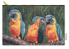 Macaws Carry-all Pouch by David Stribbling