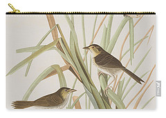 Macgillivray's Finch  Carry-all Pouch by John James Audubon