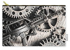 Machines Of Military Precision  Carry-all Pouch by Jorgo Photography - Wall Art Gallery