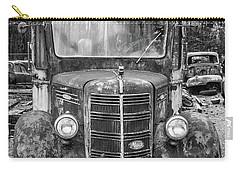 Mack Truck In A Junkyard Carry-all Pouch