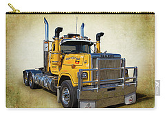 Carry-all Pouch featuring the photograph Mack Truck by Keith Hawley