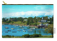 Mackerel Cove On Bailey Island Carry-all Pouch