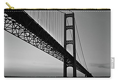 Mackinac Bridge At Sunset Carry-all Pouch