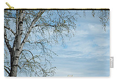Mackinac Bridge Birch Carry-all Pouch