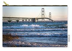 Mackinac Bridge Michigan Carry-all Pouch