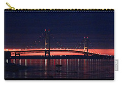 Mackinac Bridge On A June Evening Carry-all Pouch