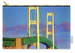 Mackinac Bridge Carry-all Pouch