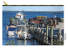 Mackinac Island Coal Dock Carry-all Pouch