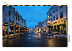 Mackinac Island Town At Dawn Carry-all Pouch