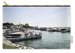 Mackinac Marina Art Carry-all Pouch