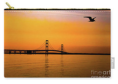 Mackinaw Sunset  Carry-all Pouch