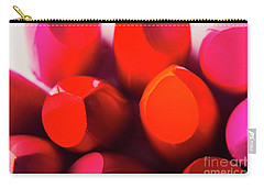 Carry-all Pouch featuring the photograph Macro Cosmetic Art by Jorgo Photography - Wall Art Gallery