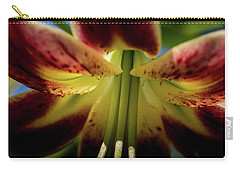 Carry-all Pouch featuring the photograph Macro Flower by Jay Stockhaus
