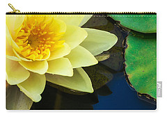 Macro Image Of Yellow Water Lilly Carry-all Pouch