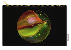 Macro Marble 2 Carry-all Pouch by David Stasiak