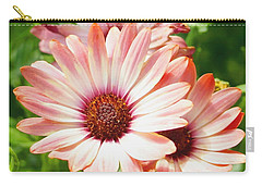 Macro Pink Cinnamon Tradewind Flower In The Garden Carry-all Pouch