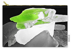 Macro Sea Glass Carry-all Pouch