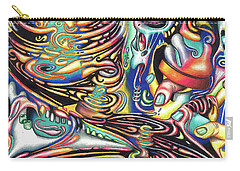 Macrocosmic Creation Of A Splendid Puzzle Carry-all Pouch