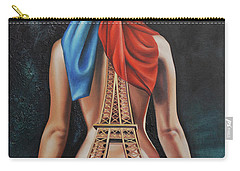 Madame Eiffel Carry-all Pouch by Jorge L Martinez Camilleri