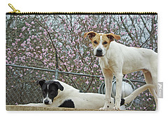 Maddy And Sammy Springtime Carry-all Pouch