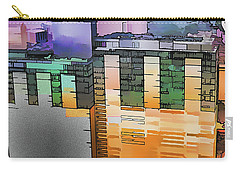 Carry-all Pouch featuring the digital art Made For Each Other by Wendy J St Christopher