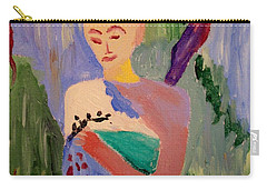 Carry-all Pouch featuring the painting Madeline by Bill OConnor