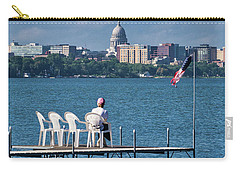 Madison Capitol Across Lake Mendota Carry-all Pouch